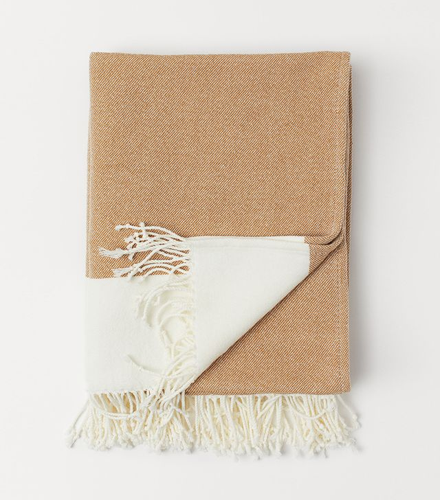 H&M Throw with Fringe