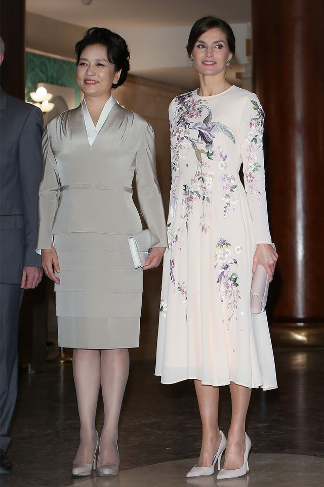 Queen Letizia of Spain wore a $119 ASOS dress