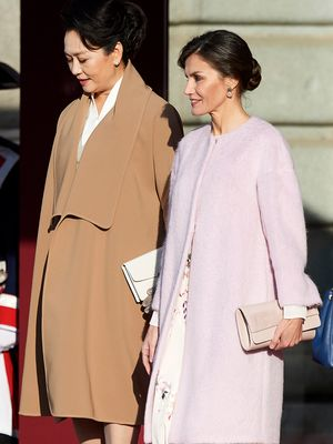 You'd Never Know Queen Letizia of Spain's ASOS Dress Was $119