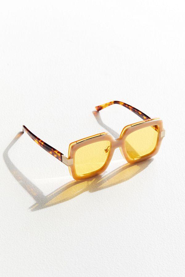 Bonnie Clyde Mancuso Square Sunglasses