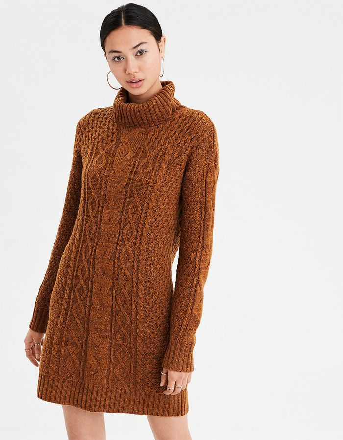 de3c6aaf027 16 Cable Knit Sweater Dresses Perfect for Winter