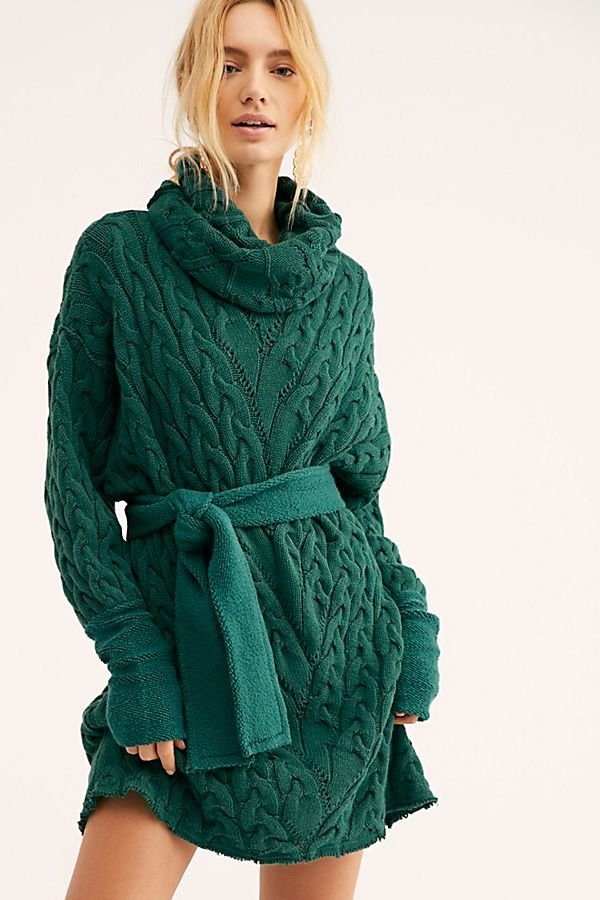 16 Cable Knit Sweater Dresses Perfect For Winter Who