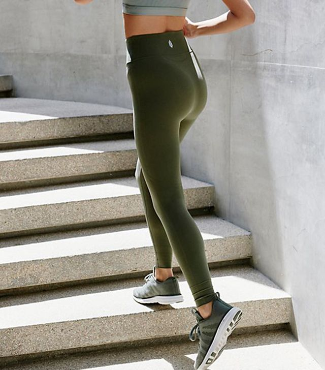Free People High-Rise Self-Hem Sculpt Legging