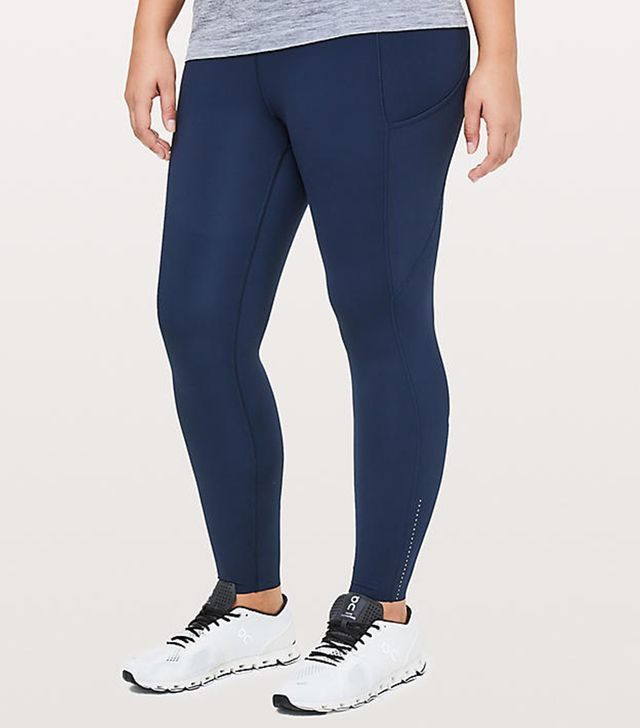 Lululemon Fast & Free 7/8 Tights II Nulux 25""