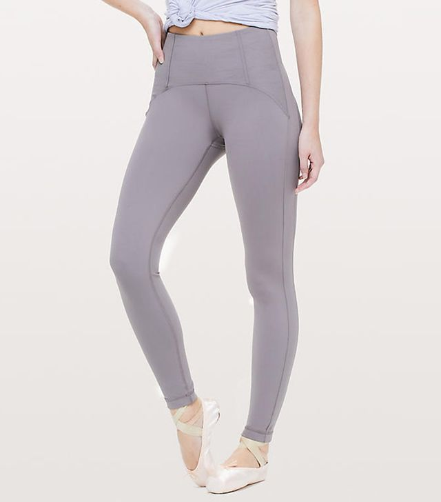Lululemon Principal Dancer Corsetry Tights 28""