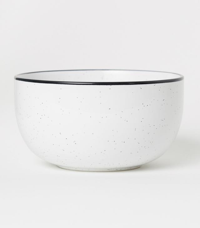 H&M Large Stoneware Bowl