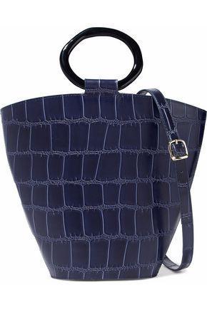 Staud Seberg Leather Shoulder Bag