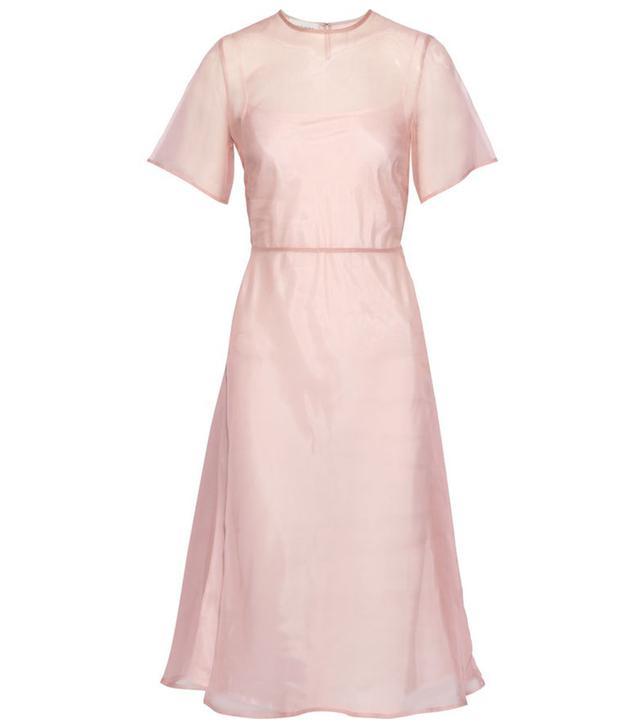 Mansur Gavriel Layered Silk-Organza Dress