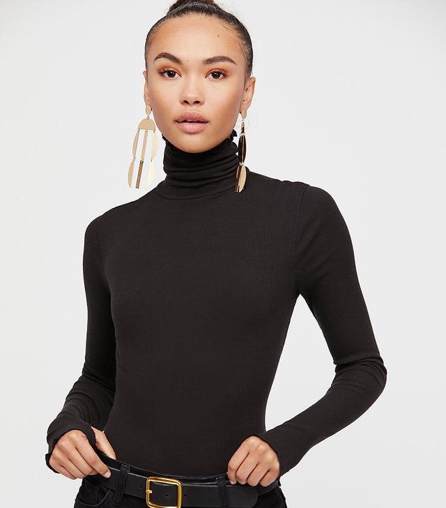 Intimately at Free People Seamless Turtleneck Bodysuit