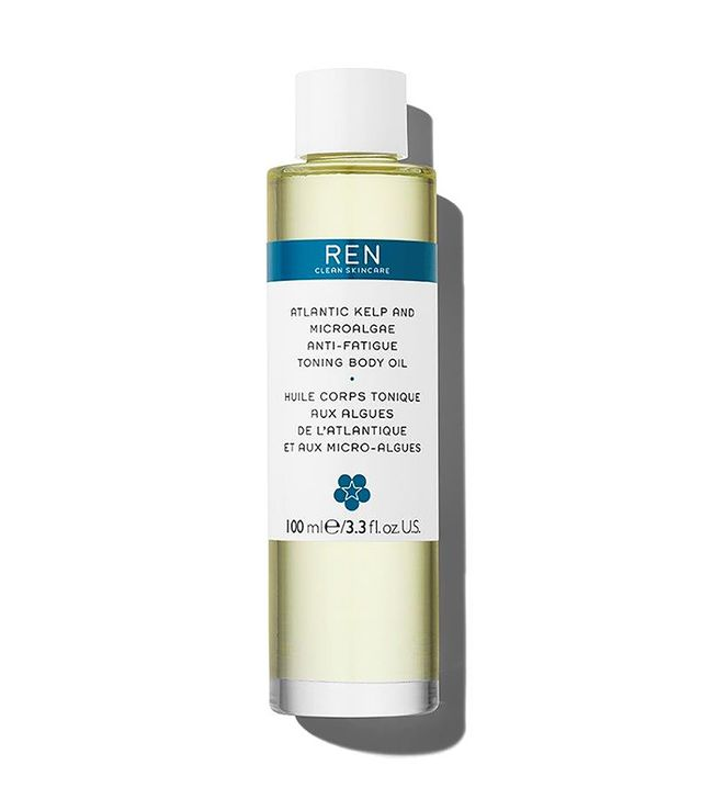 REN Clean Skincare Atlantic Kelp and Microalgae Anti-Fatigue Toning Body Oil