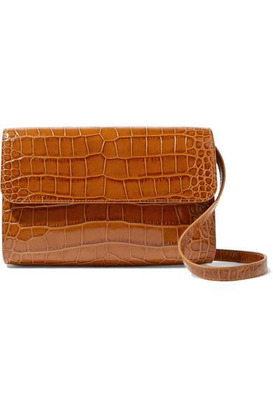 By Far Leather Shoulder Bag