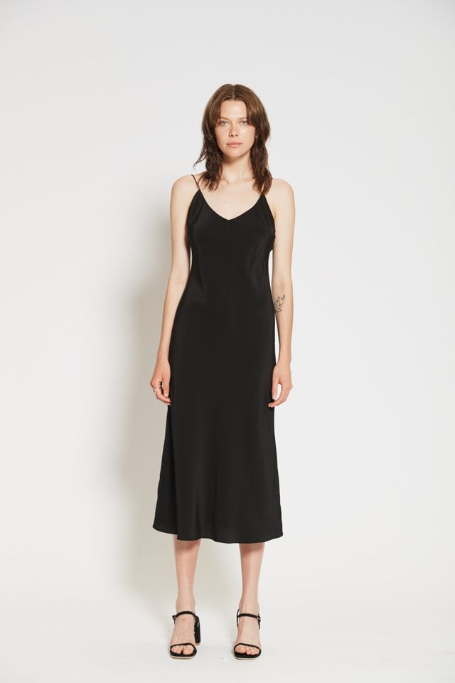 Natalija Silk Slip Dress