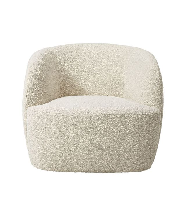 CB2 Gwyneth Boucle Chair