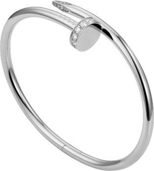 Cartier Juste Un Clou Bracelet White Gold