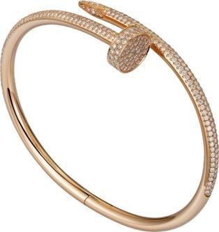 Cartier Juste Un Clou Bracelet Pink Gold