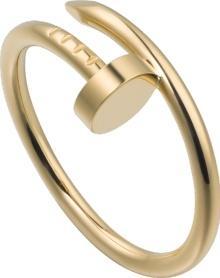 Cartier Juste Un Clou Rring SM Yellow Gold