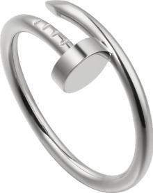 Cartier Juste Un Clou Ring SM White Gold