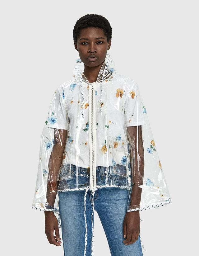 Ganni Petunia Transparent Rain Jacket