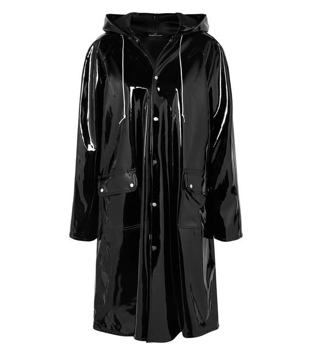 Rokh Hooded Vinyl Raincoat