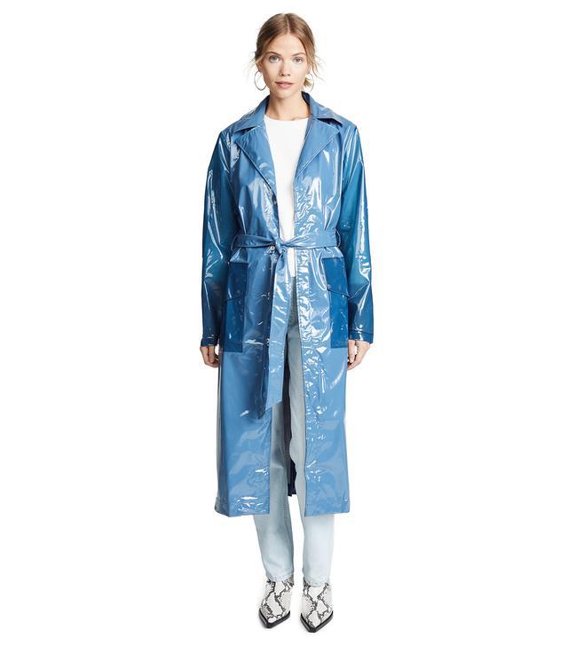 Rains Ltd. Long Overcoat