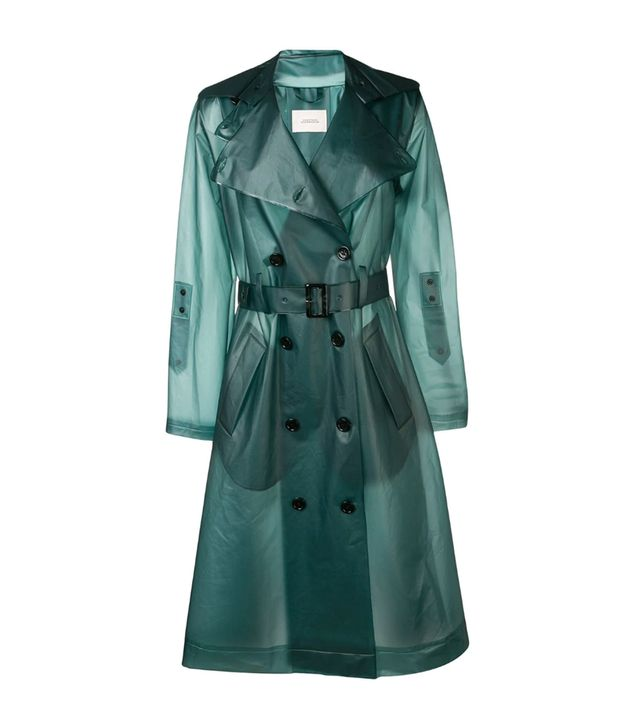 Dorothee Schumacher Belted Rain Coat