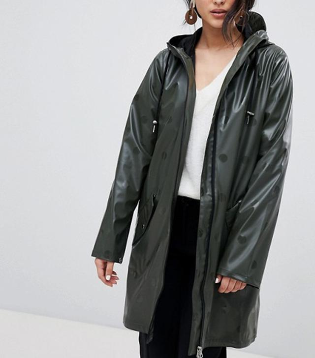 Y.A.S Polka Dot Waterproof Jacket