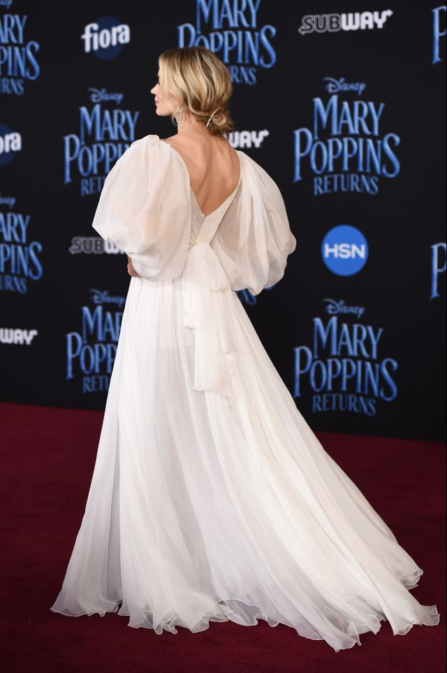 Emily Blunt Mary Poppins Returns Red Carpet