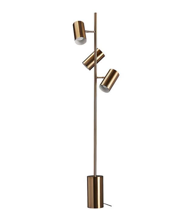 CB2 trio floor lamp