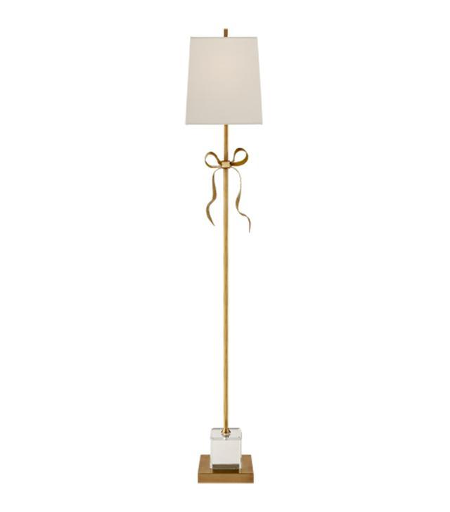 Kate Spade New York Ellery Gros Grain Bow Floor Lamp