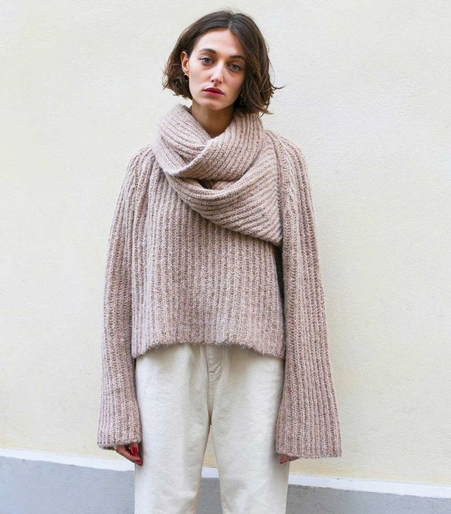 Frankie Scarf Sweater