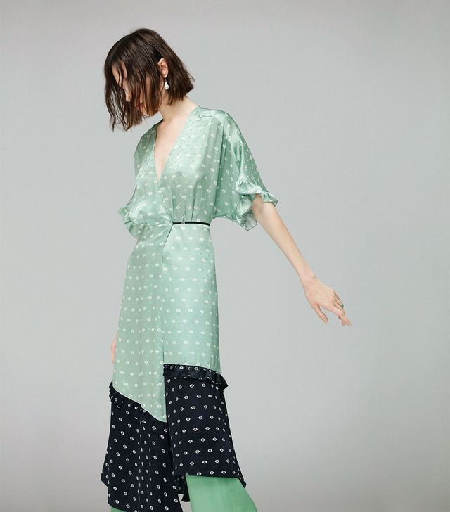 Veda Tuscan Silk Wrap Dress