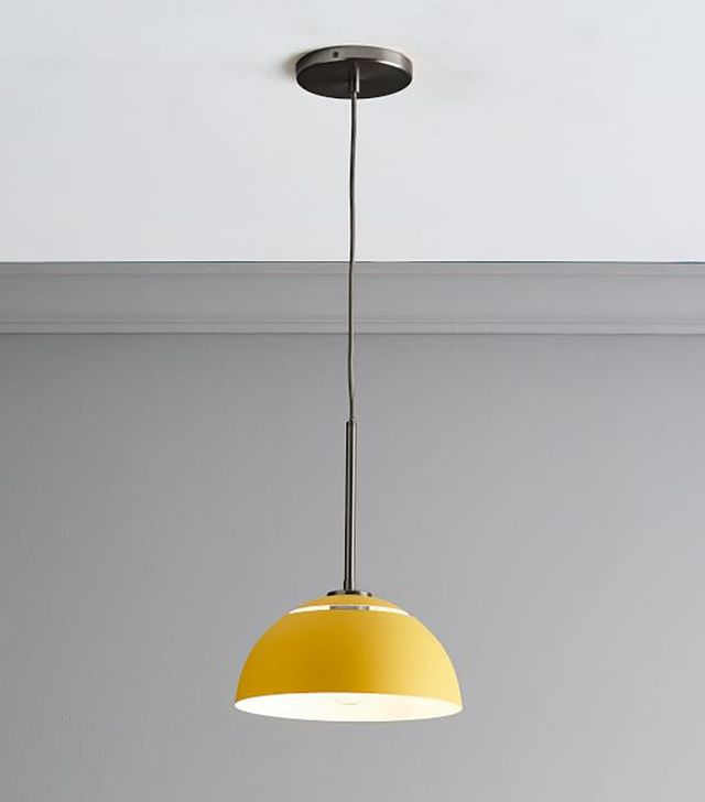 West Elm Sculptural Metal Pendant