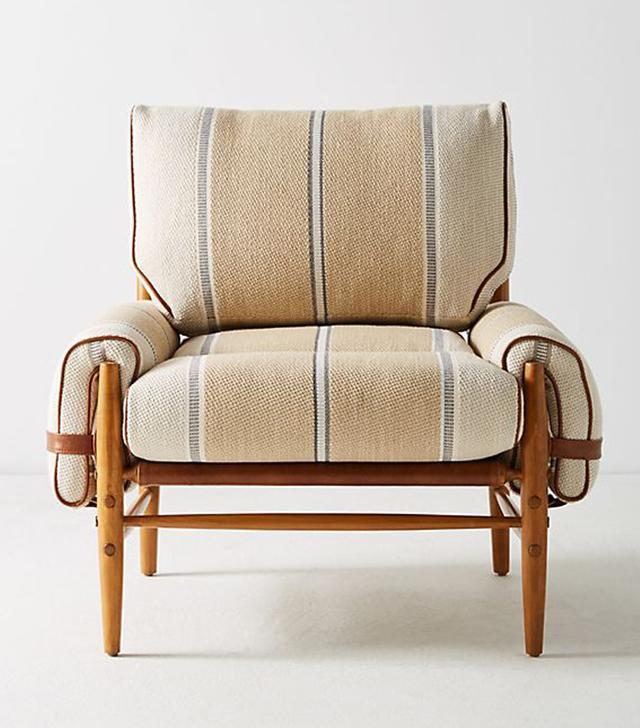 Anthropologie Peruvian Stripe Rhys Chair