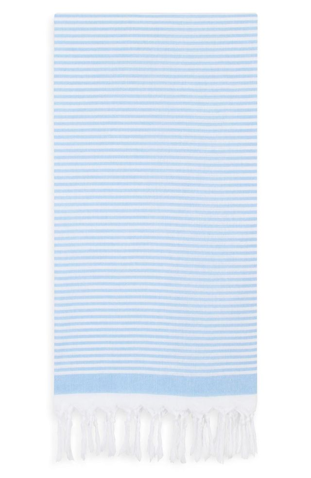 Linum Home Textiles Soft Stripes Turkish Pestemal Towel 30th Birthday Ideas