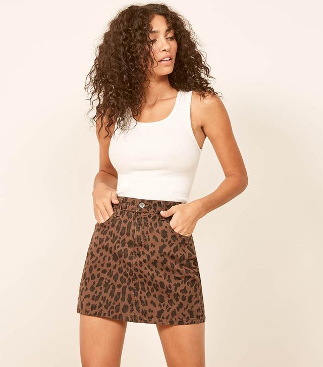 Reformation Cher Skirt