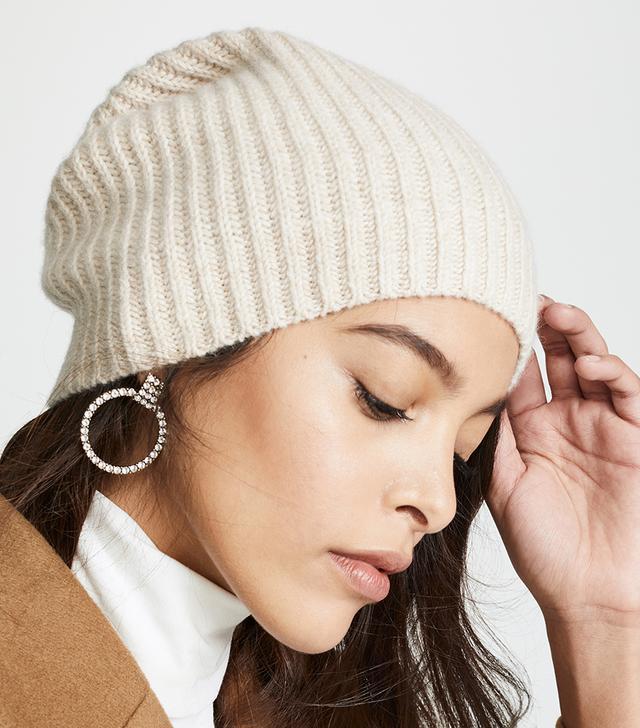 Club Monaco Cashmere Colleen Tweed Hat