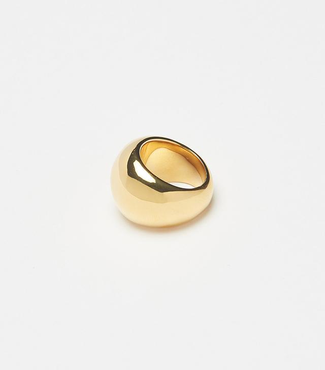 Bagatiba Large Gold Orb Ring