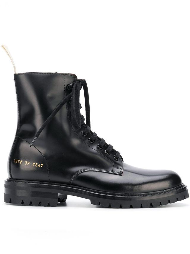 Common Projects Combat Boots