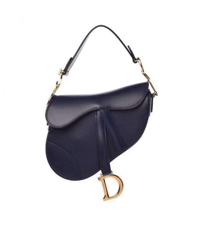 Dior Calfskin Mini Saddle Bag