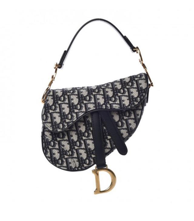 Dior Oblique Mini Saddle Bag