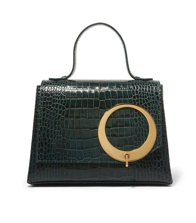 Trademark Harriet Croc-Effect Leather Tote