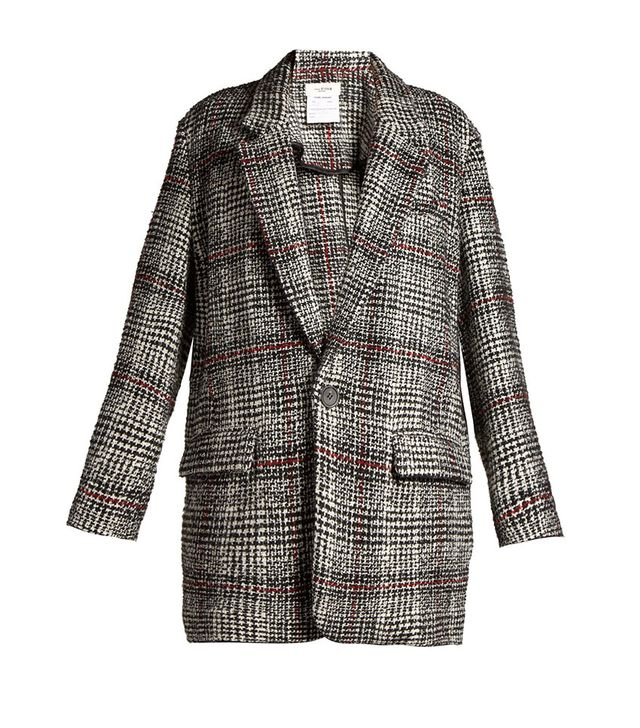 Étoile Isabel Marant Erix Checked Tweed Blazer