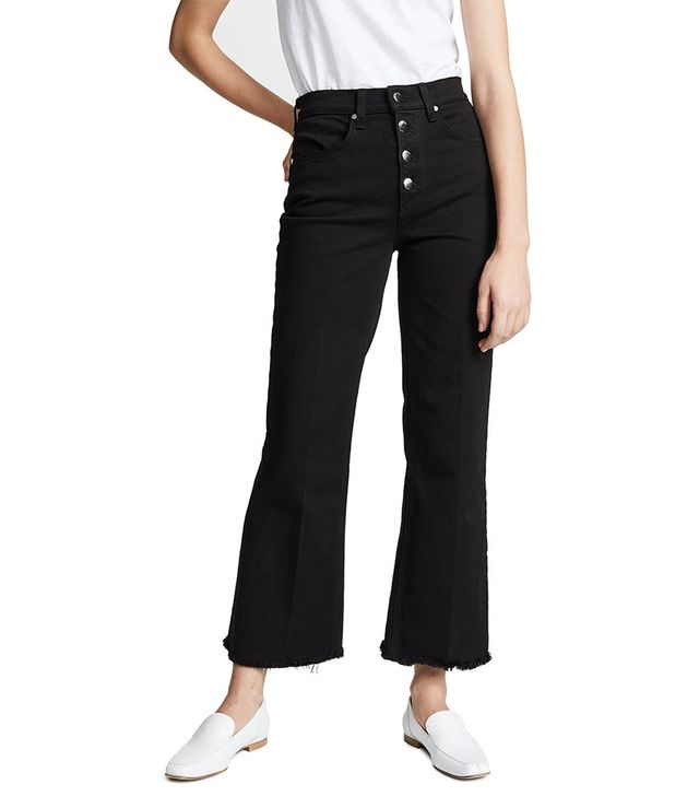 Rag & Bone The Justine Ankle Button Fly Jeans
