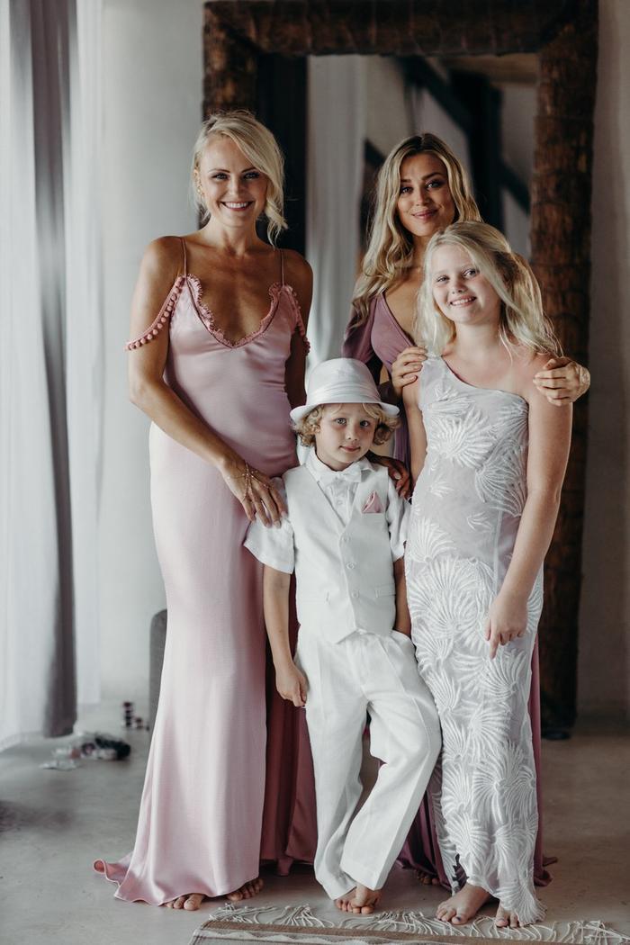 Malin Akerman Just Got Married In A Pink Wedding Dress Who What Wear