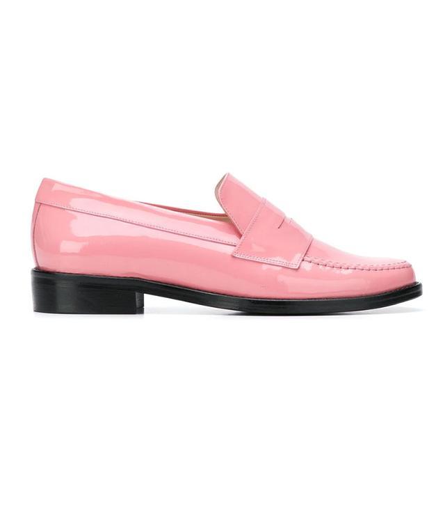 Leandra Medine Contrast Sole Sneakers