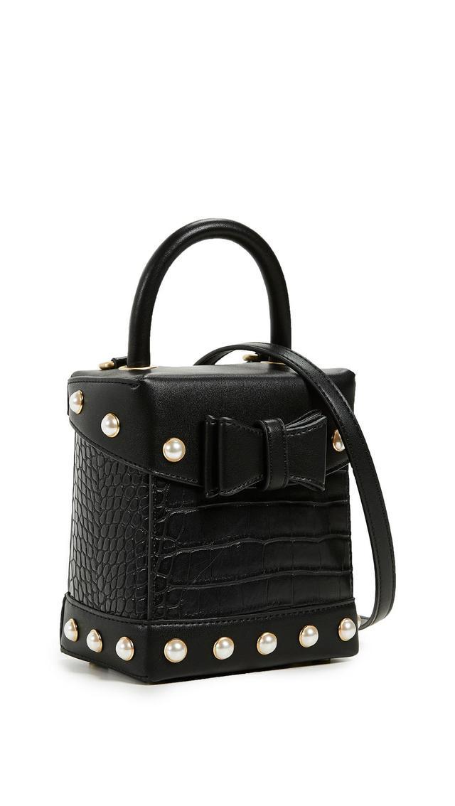 Sam Edelman Charlie Croc Box Bag