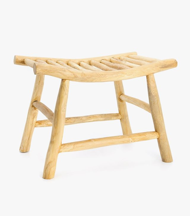 Zara Home Slat Seat Stool