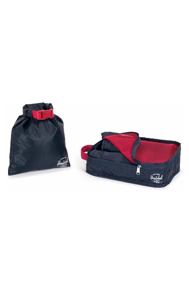 Herschel Supply Co. Travel Organizer Set How Early to Arrive at the Airport