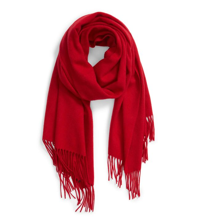 Halogen Solid Cashmere Wrap Scarf How Early to Arrive at the Airport