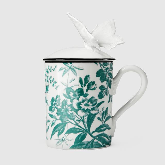 Gucci Herbarium Butterfly Mug